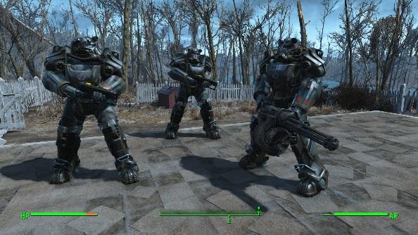 Fallout 4 Mod fire team support