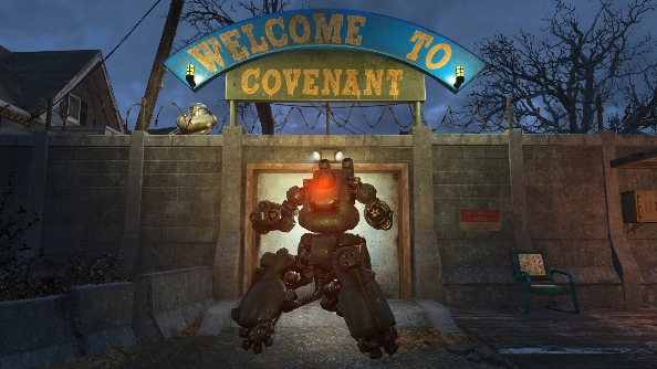 Fallout 4 mod Robot Home Defence