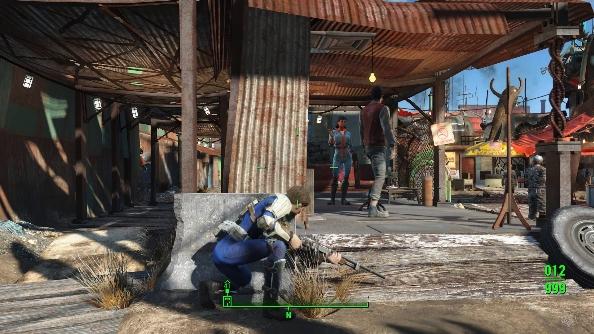 Fallout 4 mod Take Cover