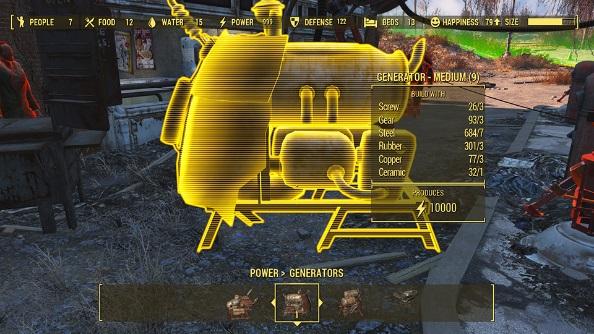 Fallout 4 mod Better Generators