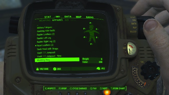 Fallout 4 mod Carry Weight