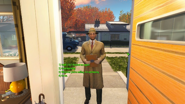 Fallout 4 mod full dialogue