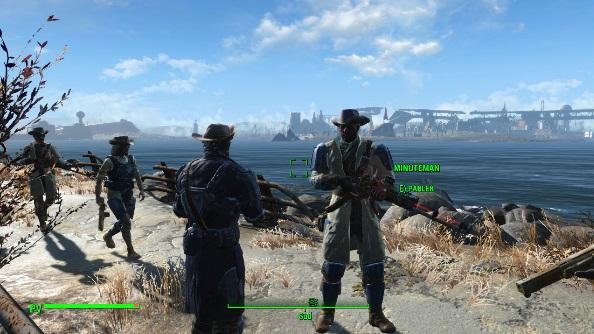 Fallout 4 mods Minutemen