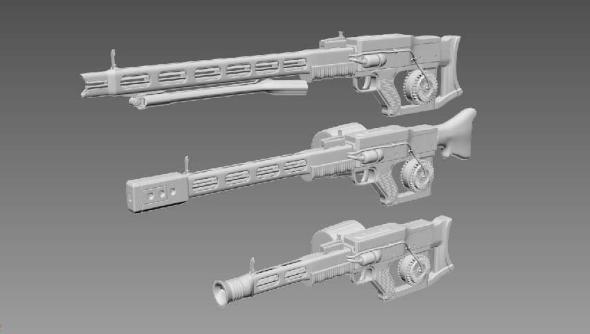 Fallout 4 rail gun