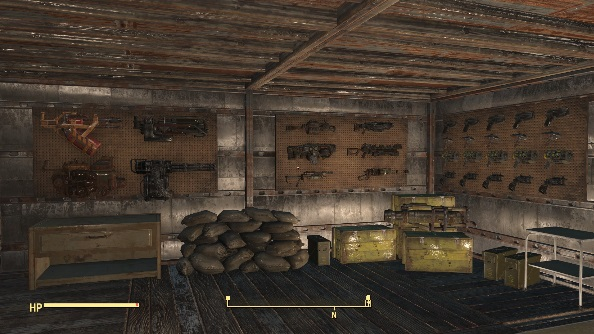 Fallout 4 mods weapons racks