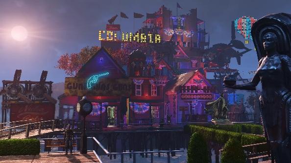 Fallout 4 settlements Columbia