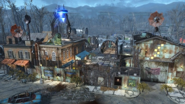 Fallout 4 settlements Hydroelectric dam
