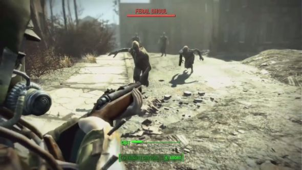 Fallout 4 zombies