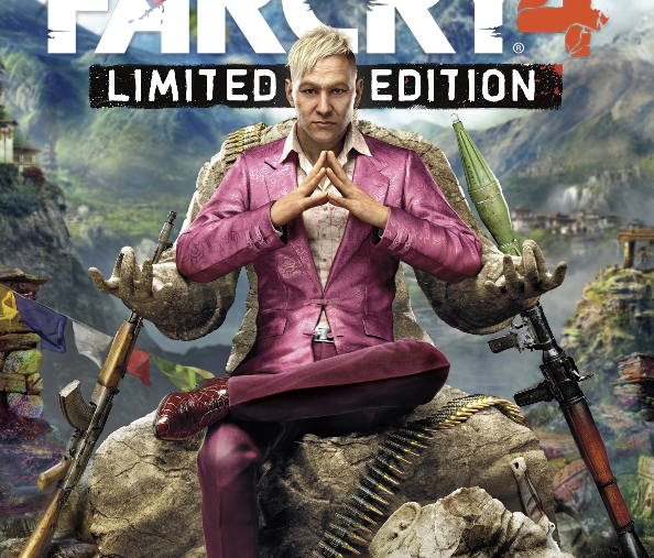 Far Cry 4 Limited Edition box cover