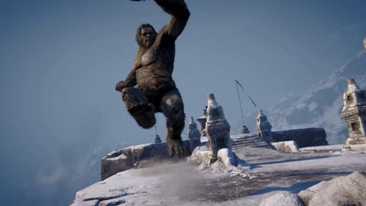 Far Cry 4 Valley Of The Yetis Doesn T Look Abominable Pcgamesn