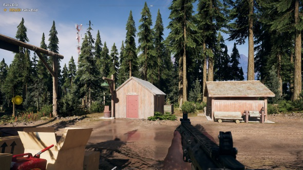 Far Cry 5 PC graphics high