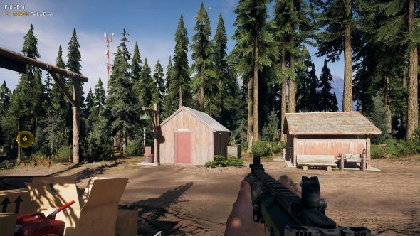Far Cry 5 PC graphics low