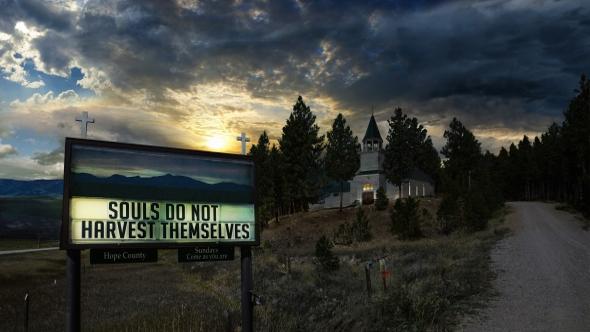 Far Cry 5 church