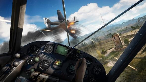 Far Cry 5 plane