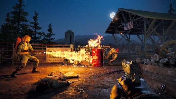Far Cry 5 fire