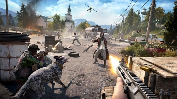Far Cry 5 shooting