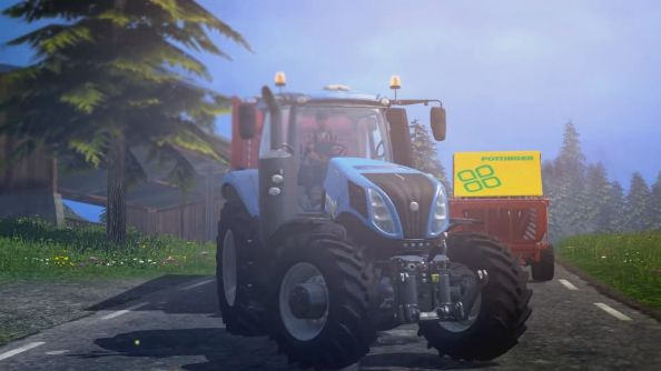 Farming Simulator 15 is real; coming to PC in October
