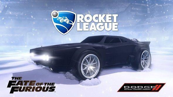 Fate of the Furious Rocket League