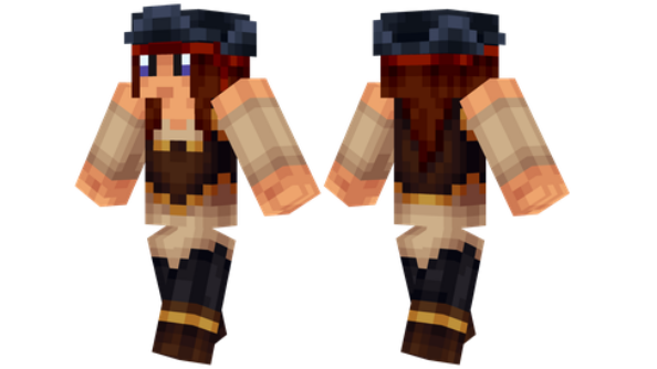 best minecraft skins Female Pirate