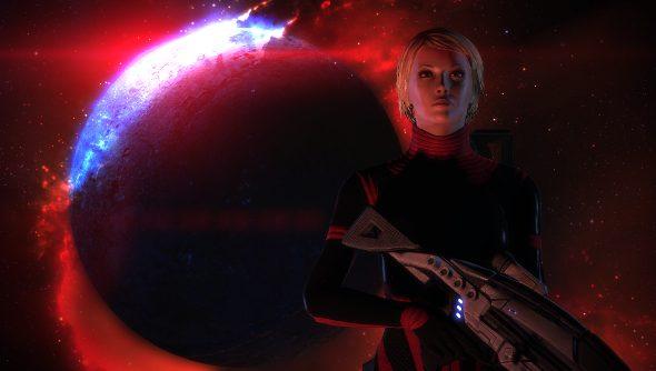 Mass Effect's FemShep was the first Commander Shepard