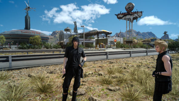 Final Fantasy XV PC graphics highest