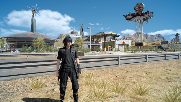 Final Fantasy XV PC graphics low