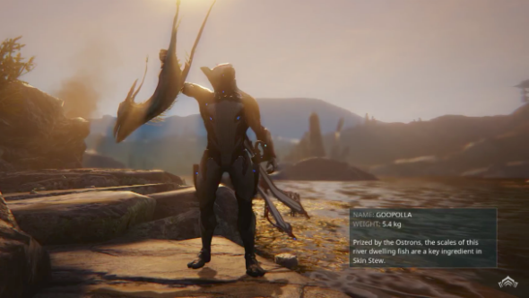 "Warframe gets spearfishing, because ""what is an open-world game without fishing?"""