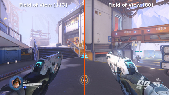 Overwatch Field of view