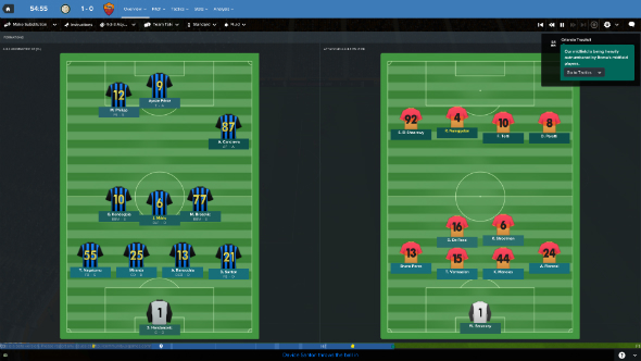 Football Manager 2017 tactics