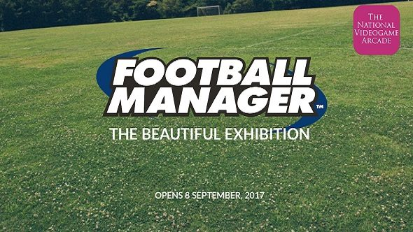Football Manager The Beautiful Exhibit National Videogame Arcade