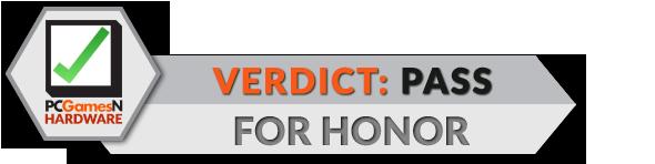 For Honor PC Tech Review verdict