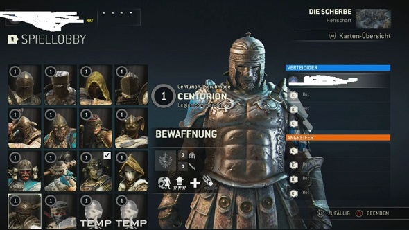 For Honor Centurion