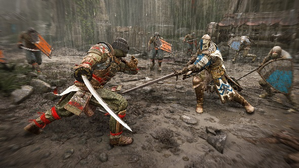 For Honor multiplayer fight