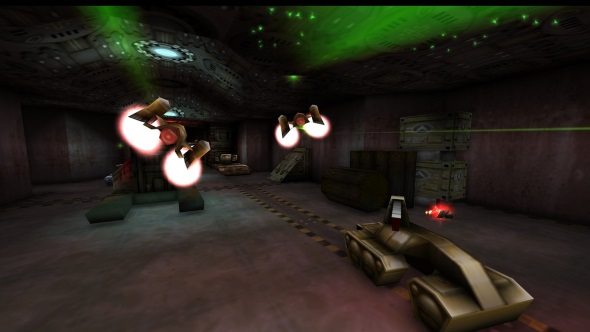 Free-flying FPS Forsaken gets the EX treatment from the mind behind Turok 1 & 2 HD updates