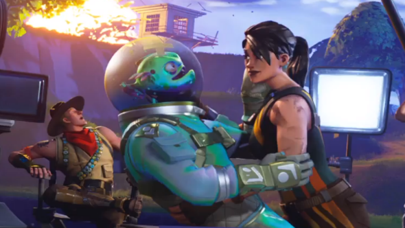 Fortnite Quiet on the set