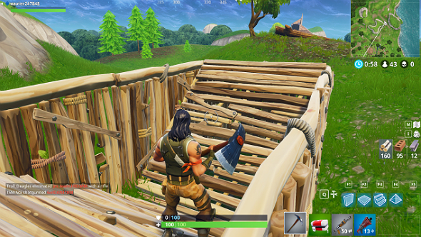 fortnite building tips v ramp