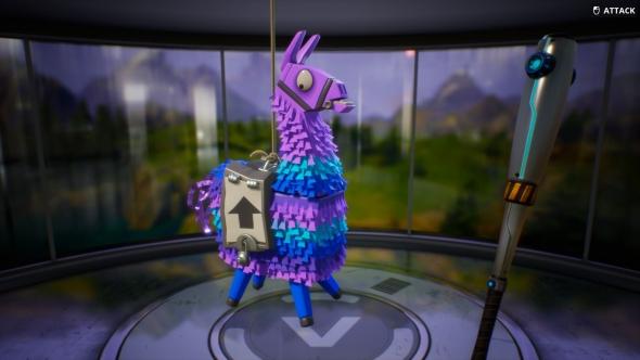 Fortnite llamas loot