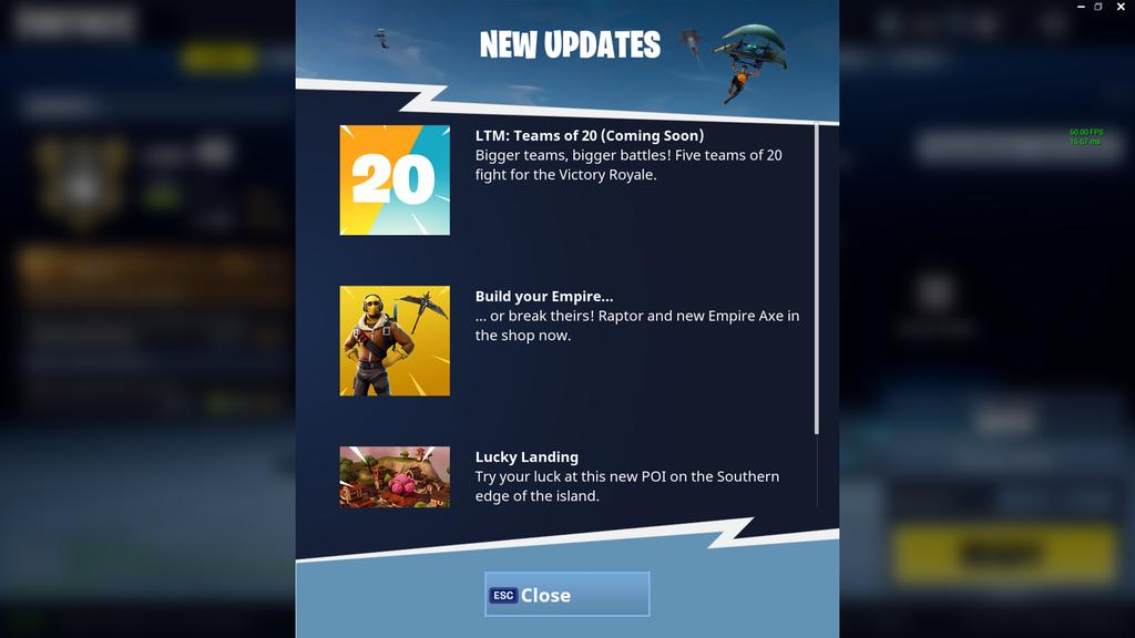 fortnite battle royale new mode