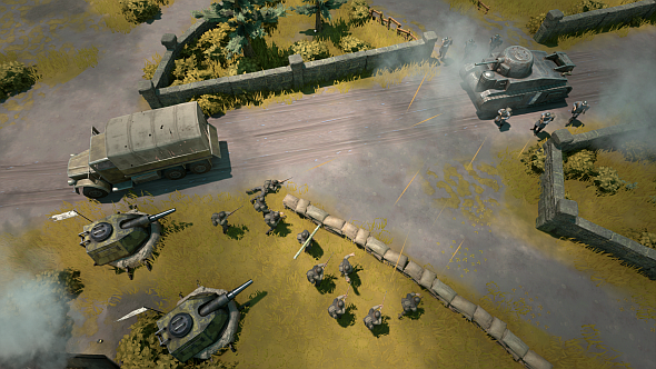 Foxhole_truck,_tank,_turrets