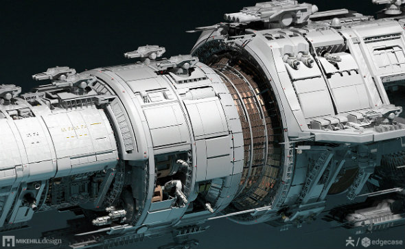Fractured Space NASA concepts