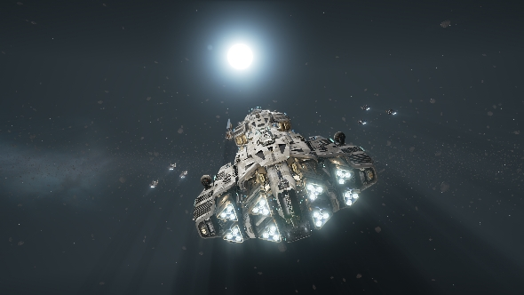 Fractured Space ship