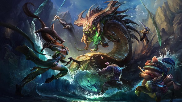 Free MMOs League of Legends