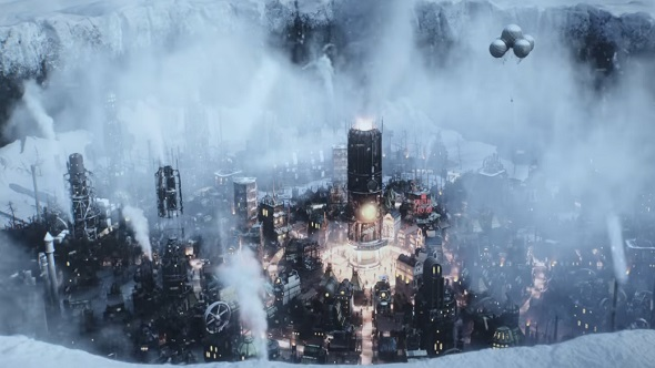 Frostpunk's latest trailer shows that arctic survival is snow-joke