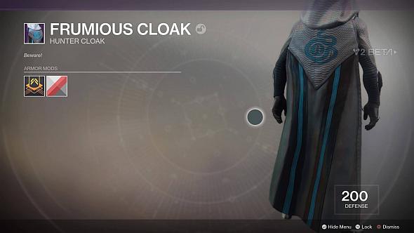 Frumious Cloak