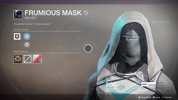 Frumious Mask