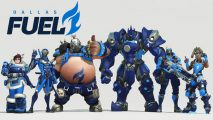 Dallas Fuel Overwatch team roster