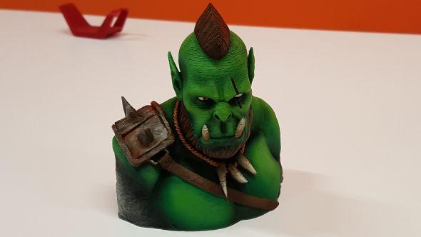 G2A 3D Plus printing