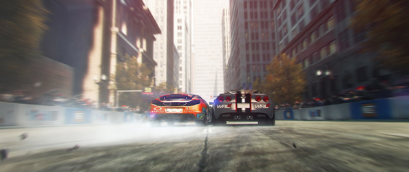 Grid 2 trailer shows teensy bit of game footage, wastes lots of time on live action thingy