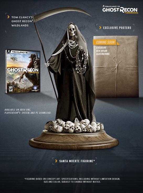 Ghost Recon Wildlands US Collector's Edition