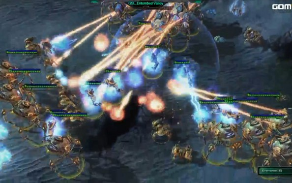 Mismatches and falling stars in the GSL StarCraft 2 tournament's round of eight